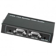Splitter Video VGA 1x2 con audio