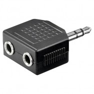 Adattatore Audio 3.5mm Stereo 1M/2F