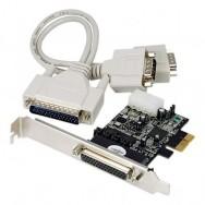 Scheda Seriale RS-232 2 Porte PCI Express con 16C950 UART