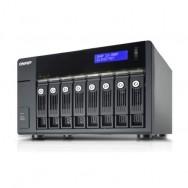 """QNAP UX-800P 2.5/3.5"""" Nero box per hard disk esterno"""