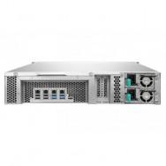QNAP TVS-1271U-RP NAS Armadio (2U) Collegamento ethernet LAN Nero, Grigio