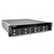QNAP TS-853U-RP NAS Armadio (2U) Collegamento ethernet LAN Nero, Grigio server NAS e di archiviazione