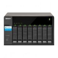 """QNAP TX-800P 2.5/3.5"""" Nero box per hard disk esterno"""