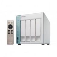 QNAP TS-451A-2G NAS Torre Collegamento ethernet LAN Verde, Bianco server NAS e di archiviazione