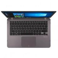 """ASUS ZenBook Flip UX360UAK-C4280T 2.5GHz i5-7200U 13.3"""" 1920 x 1080Pixel Touch screen Grigio"""