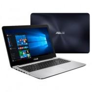 "ASUS VivoBook X556UR-XO344T 2.5GHz i5-7200U 15.6"" 1366 x 768Pixel Blu, Argento"