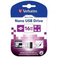 NANO Memoria USB 16GB Nero