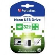 NANO Memoria USB 32GB Nero
