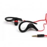 Auricolari Audio Stereo 3.5'' con Microfono Nero