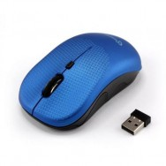 Mouse Wireless 1600dpi WM-106BL Blueberry Blu