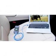 Cavo da connettore dock a USB per iPhone 30p Azzurro
