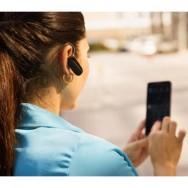 Auricolare Bluetooth v2.1 Nat con Funzione Multi-link Nero