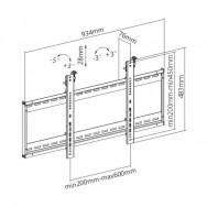 Supporto a muro per TV LED LCD 45-70'' per applicazioni videowall