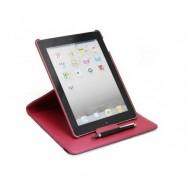 Custodia stand ruotabile per iPad2/3/4 Rossa