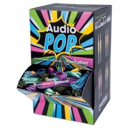 Espositore POP da Banco 60 Cavi Audio Telati 3.5'' Multicolor