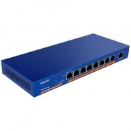 Switch Desktop 9 Porte Gigabit con 8 Porte PoE, TEG1009P-EI